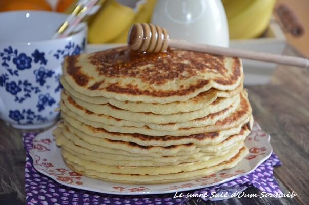 Pancakes Americains Sans Repos Recette Facile Le Sucre Sale D