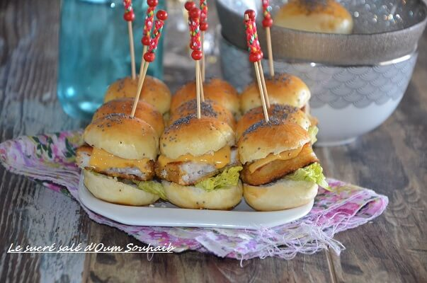 burger au poisson fish