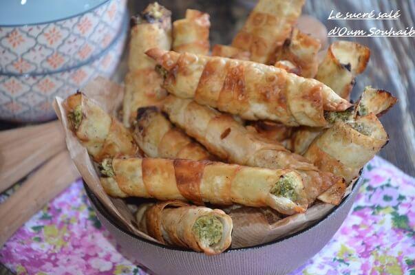 recette bourek ou borek turc épinard feta