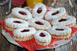 sablés fondants à la confiture et sucre glace gâteaux économiques algériens