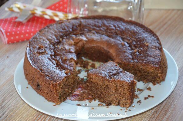 gâteau moelleux à l'orange graines de chia sucre muscovado et lait d'amande