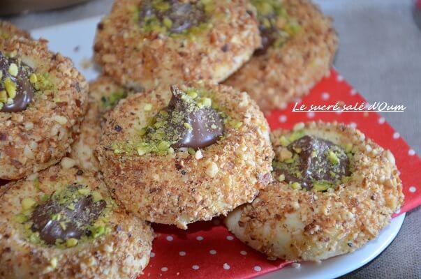 sablé nutella facile recette sans oeuf