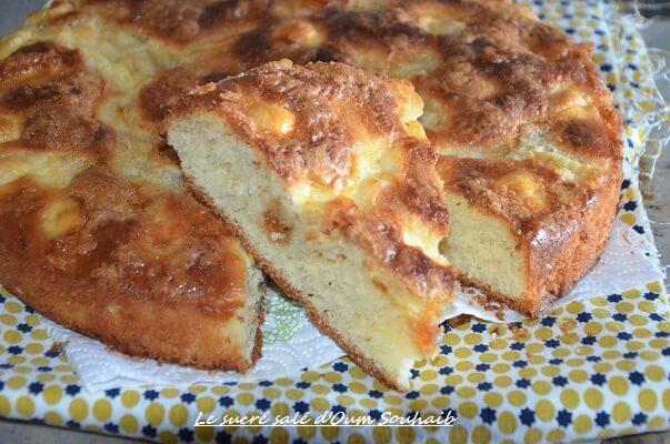 tarte au sucre vergeoise blonde brioche du nord moelleuse