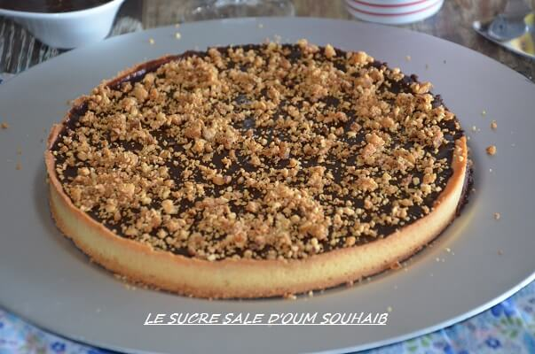 tarte au chocolat praliné maison moeleux felder