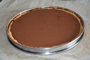 tarte au chocolat praliné 7
