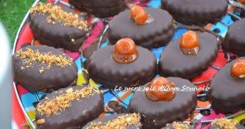 biscuit sablé au chocolat praliné 3