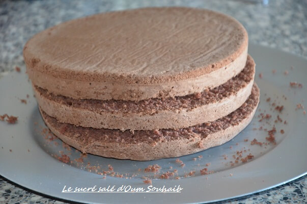 genoise au cacao facile et legere-genoise au chocolat pour layer cake