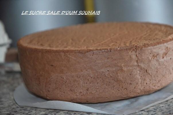 génoise au cacao facile et légère