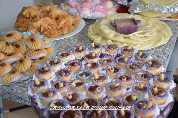 idée buffet gâteaux algériens pâtisseries orientales gâteaux arabes