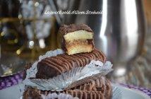 barres sablées au caramel et chocolat recette au nestlé halwa amandes