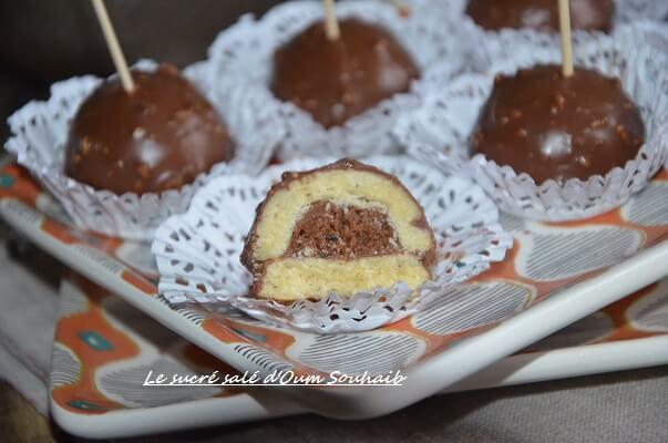 demi sphère chocolat praliné recette gâteau moule demi sphère