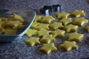 biscuit mario en forme d'étoile 6