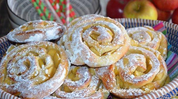 beignets aux pommes sans friture - beignets aux pommes au four - beignets aux pommes