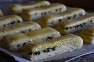 brioche suisse au chocolat et crème pâtissière 8