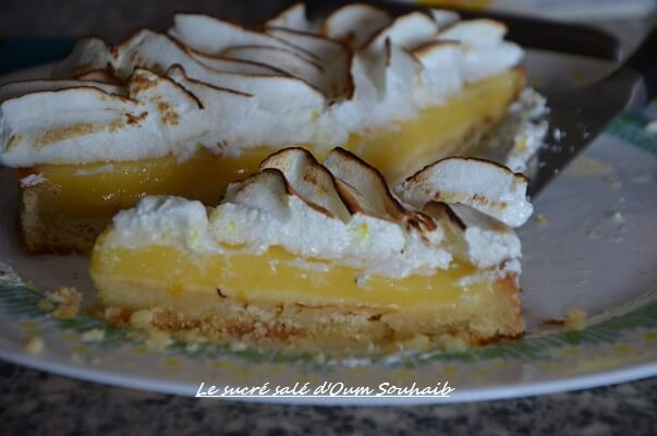 la meilleure tarte au citron meringuée - tarte au citron meringuee creme patissiere- tarte au citron meringuee felder-
