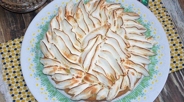 délicieuse tarte au citron meringuée - tarte au citron meringuee creme patissiere- tarte au citron meringuee felder-