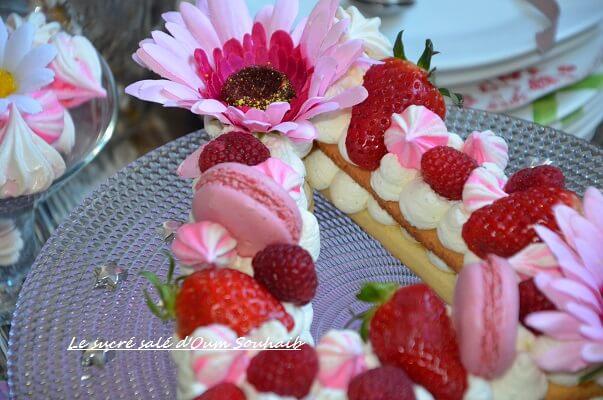 recette letter cake ou gâteau lettre 4