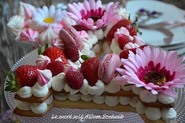 recette letter cake ou gâteau lettre 47