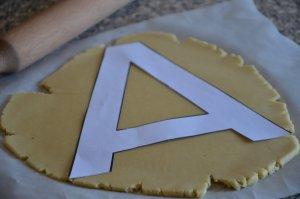 recette letter cake ou gâteau lettre 6