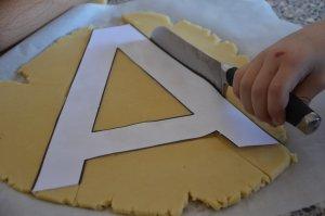 recette letter cake ou gâteau lettre 7