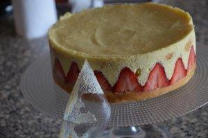 fraisier comme chez le pâtissier 7