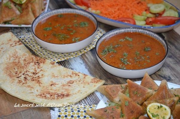 chorba frik tunisienne sans viande sans poulet