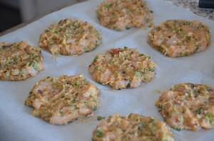recette galette de poulet haché au four 4