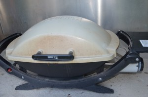 côtes de veau au barbecue Weber au gaz