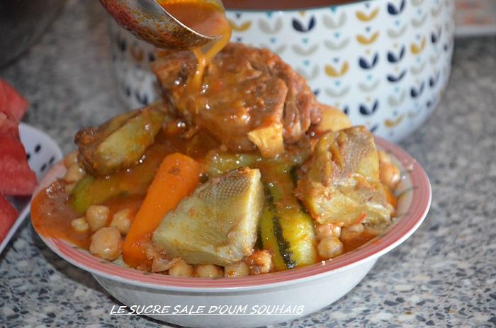 couscous aux artichauts