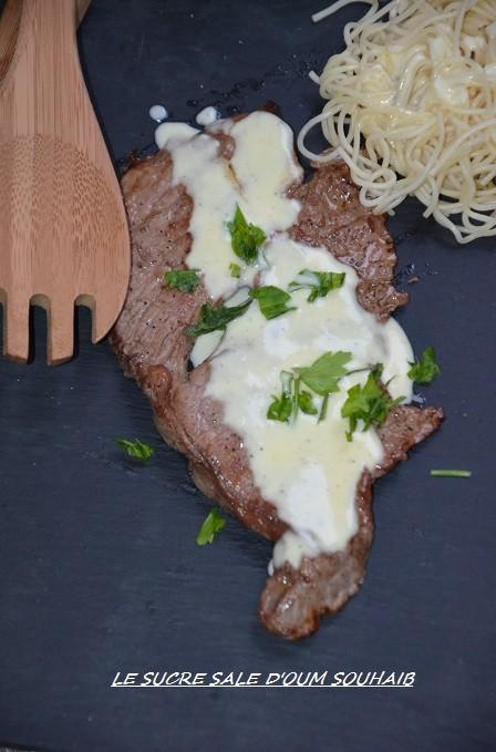 sauce saint mercellin pour entrecôte ou pâtes