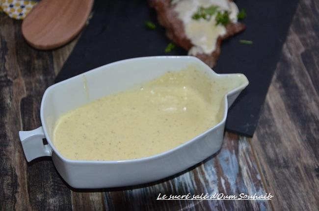 Sauce Saint Marcellin Facile Pour Entrecote Le Sucre Sale D Oum