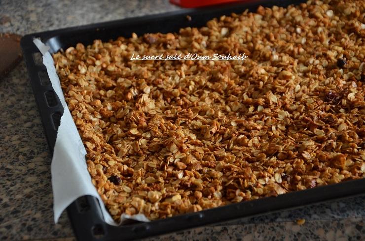 granola maison au chocolat healthy 4