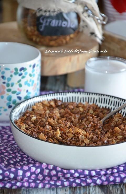 granola maison au chocolat healthy 7