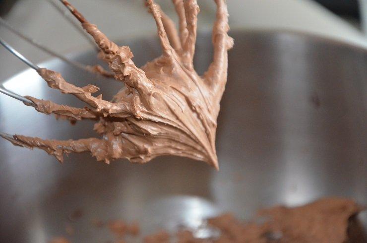 chantilly au chocolat de Mercotte