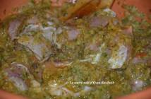chermoula (marinade marocaine pour poisson et poulet)