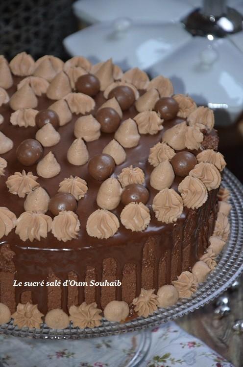 entremet chocolat praliné noisette