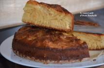 gâteau aux pommes sans gluten à la maizéna