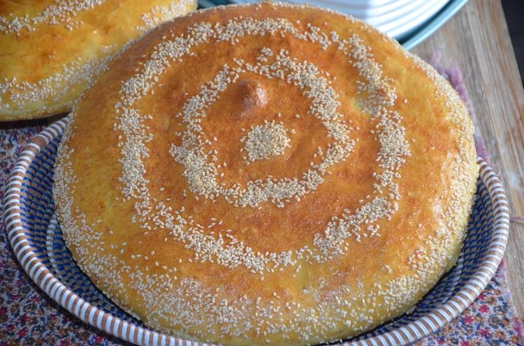 pain à la semoule maison (pain algérien)