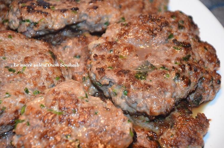Recette Land : Recette de Steak haché maison au four sur Le sucré salé