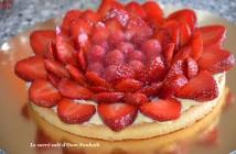 tarte fraises framboises avec ou sans crème pâtissière