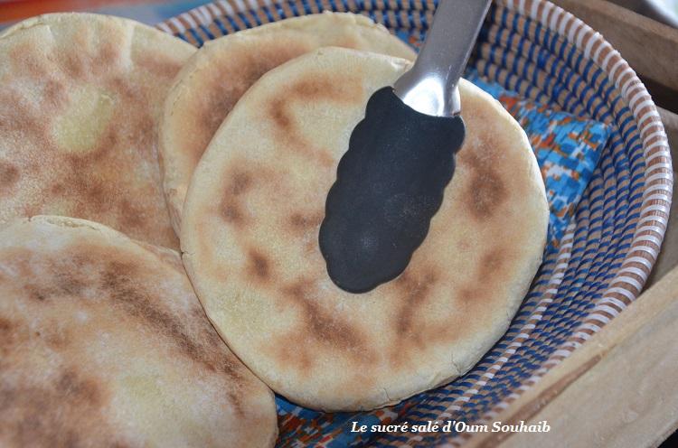 batbout pain marocain à la poêle