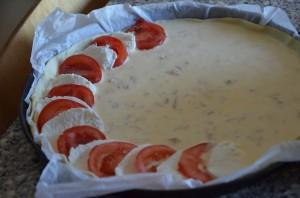 tarte au thon tomate et mozzarella 2