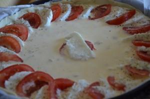 tarte au thon tomate et mozzarella 3