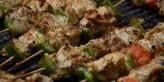 brochette de poulet marocaine à la chermoula