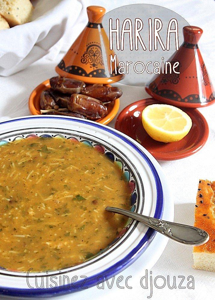 harira marocaine traditionnelle