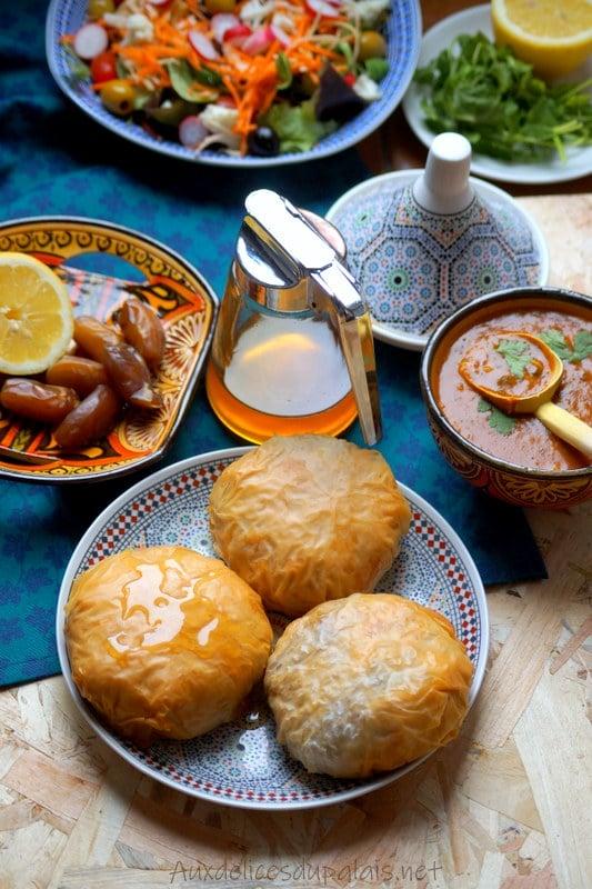 pastilla marocaine au poulet