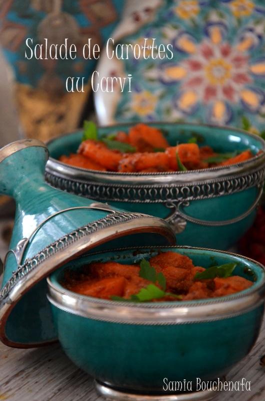 salade de carotte au carvi