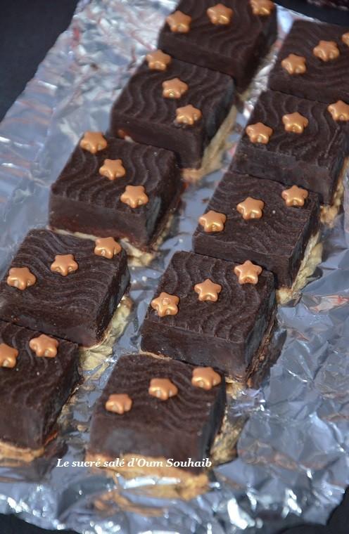 sablés a la ganache au chocolat 1