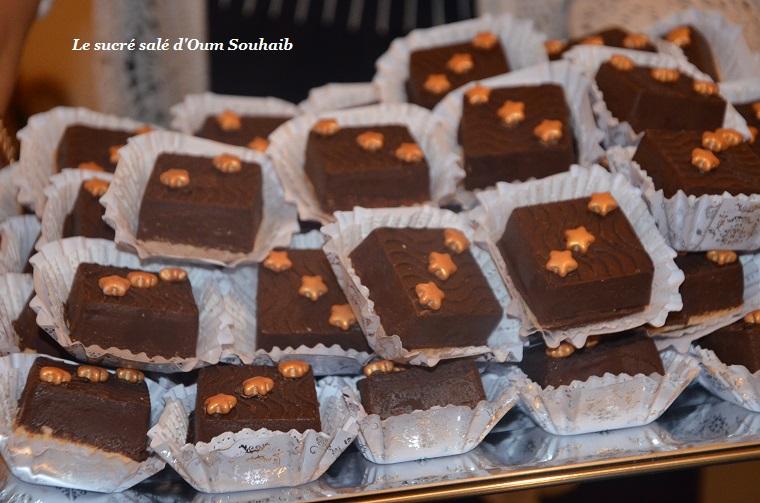 sablés aux amandes et chocolat