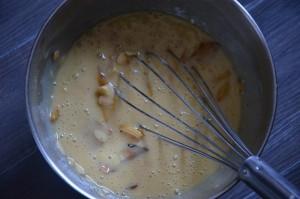 gâteau aux pommes aux amandes effilées 7